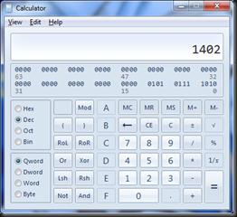 1402 Calc