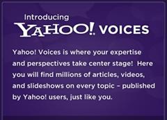 Capture Yahoo Voices