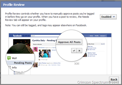 Capture FB Approve Posts