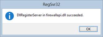 Capture RegSvr32 FirewallAPI